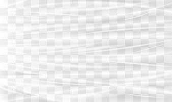 A transparent plastic warp
