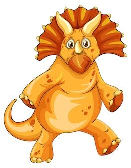 트리케라톱스 공룡 만화 캐릭터