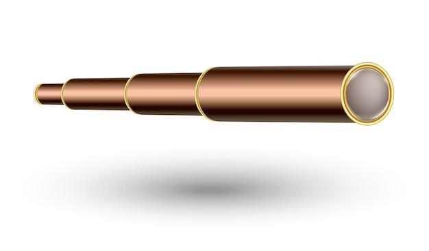 ビンテージ航海用ハンドヘルド望遠鏡またはスパイグラス