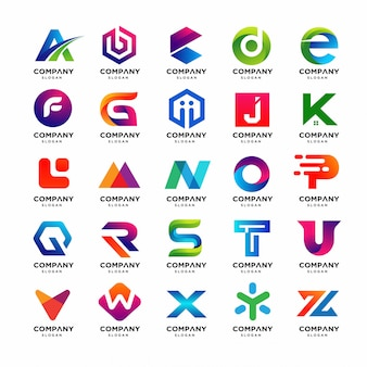 Лучшая коллекция шаблонов с буквами от a до z