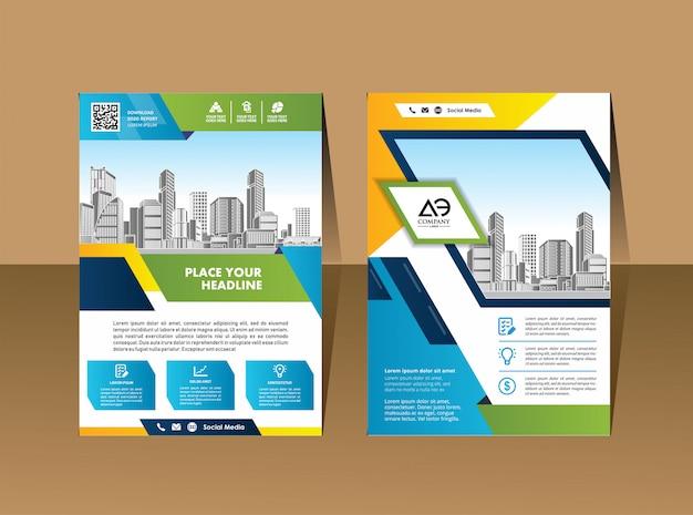 A4 catalog book brochure flyer layout