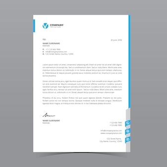 A4 letterhead template