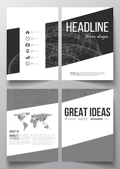 A4 templates for brochure