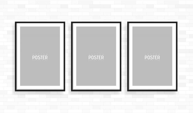 空の白いa4サイズのベクトル紙フレームモックアップ。この非常に詳細な現実的なデザインテンプレート要素を使用して、チラシ、パンフレット、見出しなどを表示します。