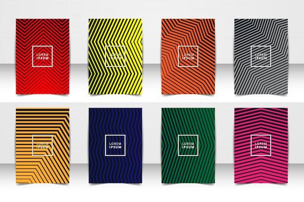 Абстрактные векторные макет фона набор. для художественного дизайна шаблона, список, титульный лист, макет брошюры стиль темы, баннер, идея, обложка, буклет, печать, листовка, книга, бланк, карточка, объявление, знак, лист, a4.