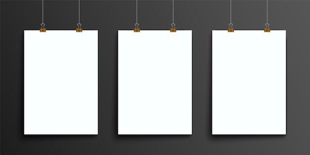 抽象的なバインダーアート、a4パンフレットカバー