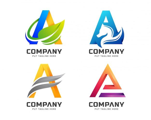 クリエイティブレターa会社のロゴ