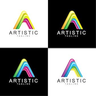 Aの文字ロゴ
