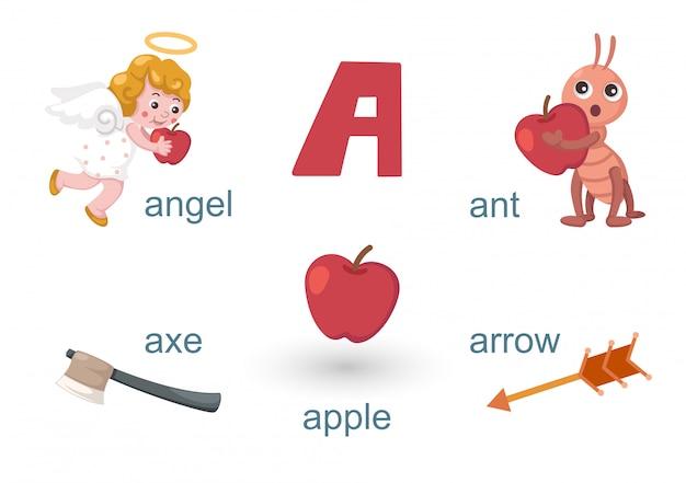 アルファベットa