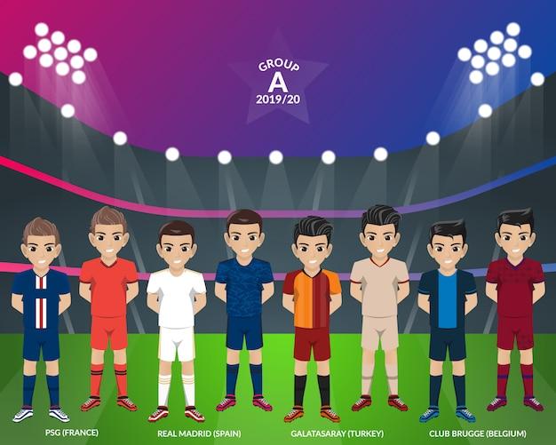 欧州選手権グループaのサッカーサッカーキット