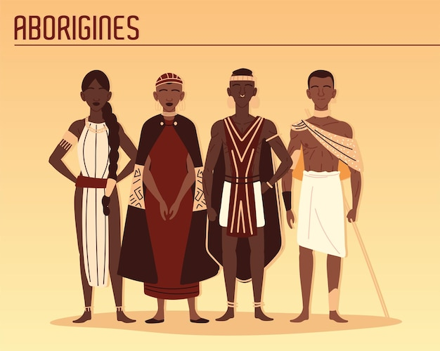 원주민 부족 구성원