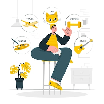 About meconcept illustration