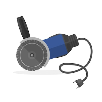 Электроинструмент шлифовального круга или шлифовального станка с тенью. .