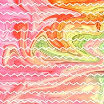 Absract Marble Ziz-zac Background