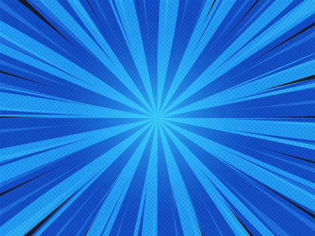 Abstack background cartoon style. bigbamm or sunlight, sunburst