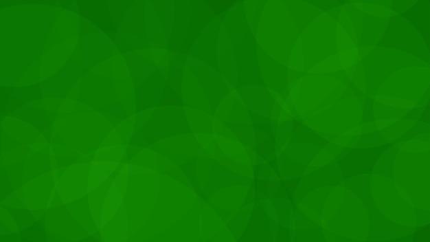 녹색 색상의 반투명 원의 abstarct 배경