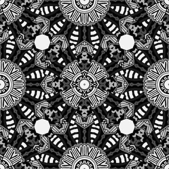 アブスタークトブラックアーバンテクスチャ背景シームレスパターン。
