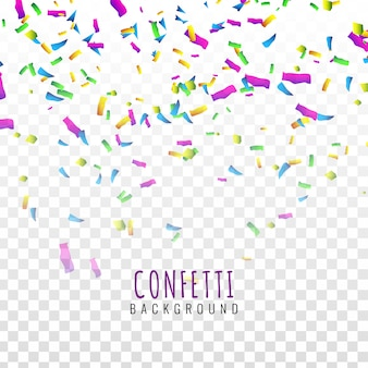 Abstarct colorful confetti background