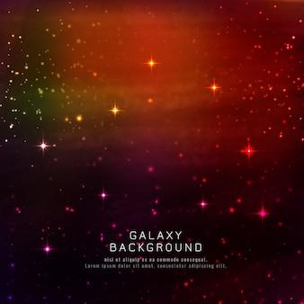 Abstarct輝く銀河の背景