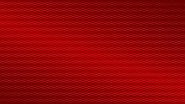 赤い色の抽象的なハーフトーングラデーションの背景