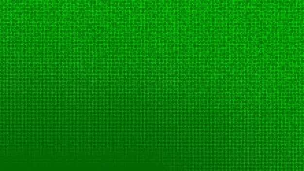 Abstarct halftone gradient background in randomly shades of green colors