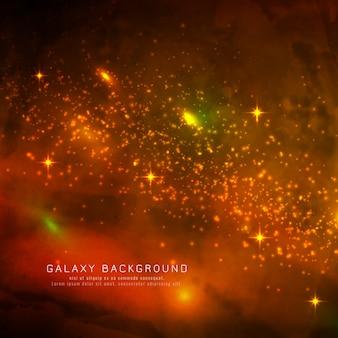 Abstarct魔法の銀河の背景