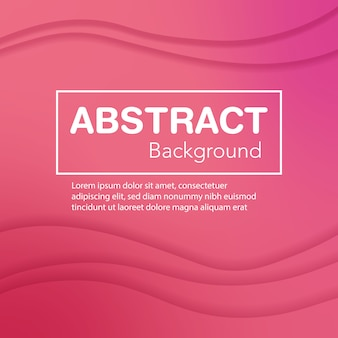 Abstrac background pink wave
