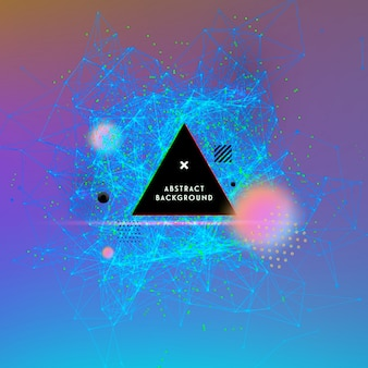 Abstrac geometric background