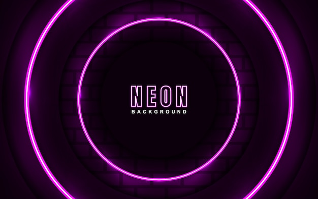 Abstrac light pink neon effect background
