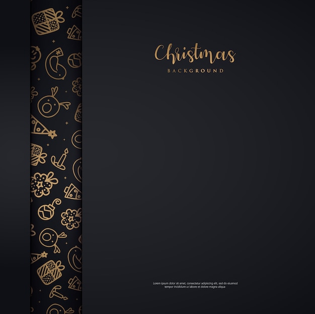 Abstrack background christmas gold