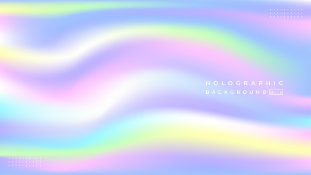 Abstrack blurred holographic background