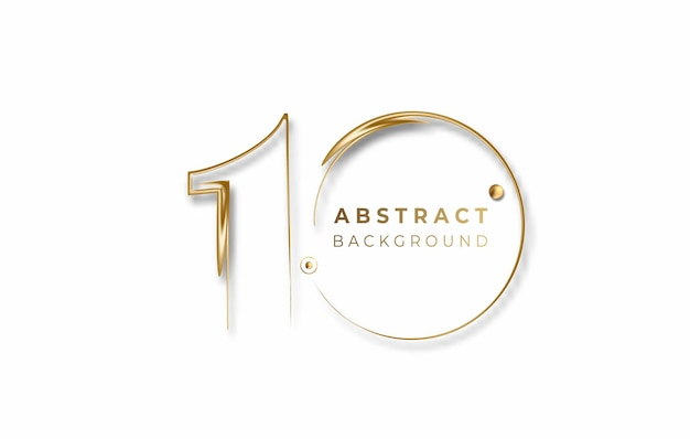 Abstract 10% off sale discount banner. discount offer price tag. vector modern sticker illustration.