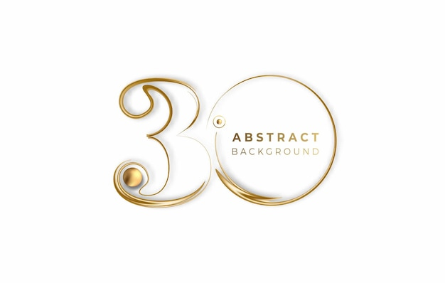 Abstract 30% off sale discount banner. discount offer price tag. vector modern sticker illustration.