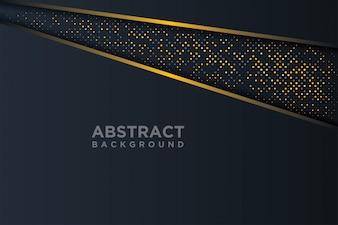 Абстрактный фон 3D с комбинацией светящихся точек в стиле 3D.