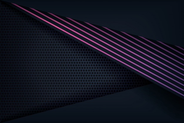 Abstract 3d background with purple lines