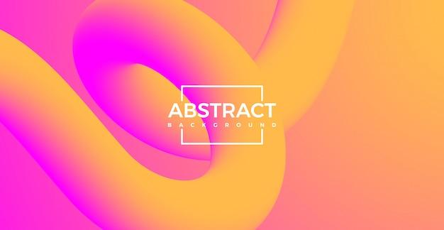 Абстрактные 3d кривой линии формы градиента фона