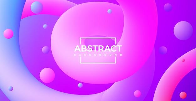 Абстрактные 3d кривой линии формы градиента красочный фон