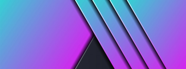 Abstract 3d dark background with geometric shape
