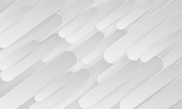 Abstract 3d geometric white and gray background.