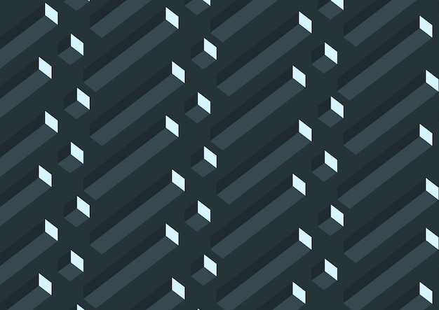 Abstract 3d gray geometric cubes pattern.