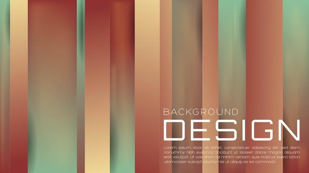 Webのランディングページと壁紙の柔らかい色で抽象的な3d液体グラデーションの背景