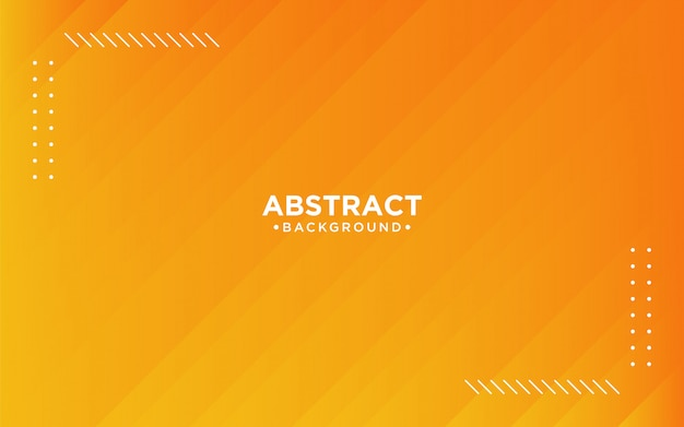 Abstract 3d orange striped background
