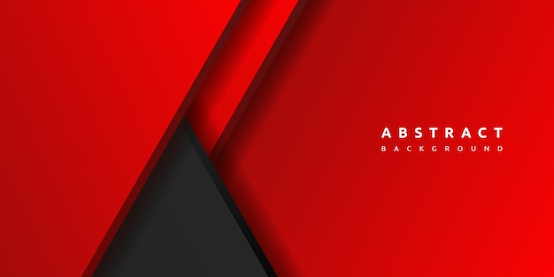 Abstract 3d red background