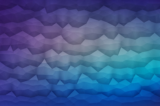 Abstract 3d vector geometrical background