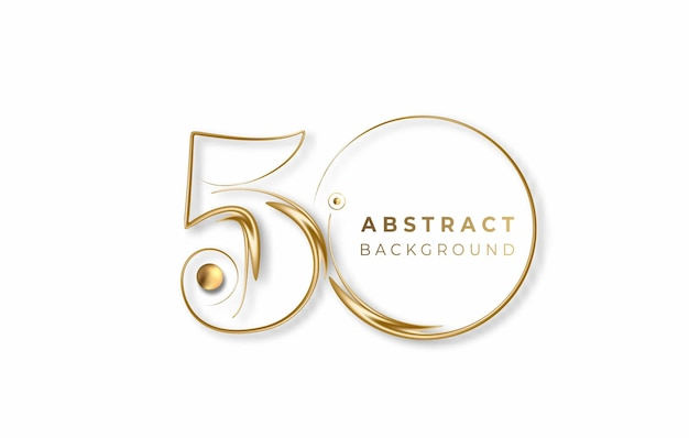 Abstract 50% off sale discount banner. discount offer price tag. vector modern sticker illustration.