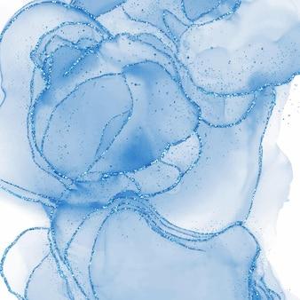 추상 알코올 잉크 질감 대리석 스타일 배경입니다. eps10 벡터 일러스트 레이 션 디자인입니다.