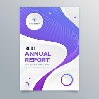 Abstract annual report 2020/2021 template