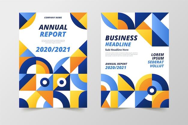 Шаблоны резюме годового отчета 2020/2021