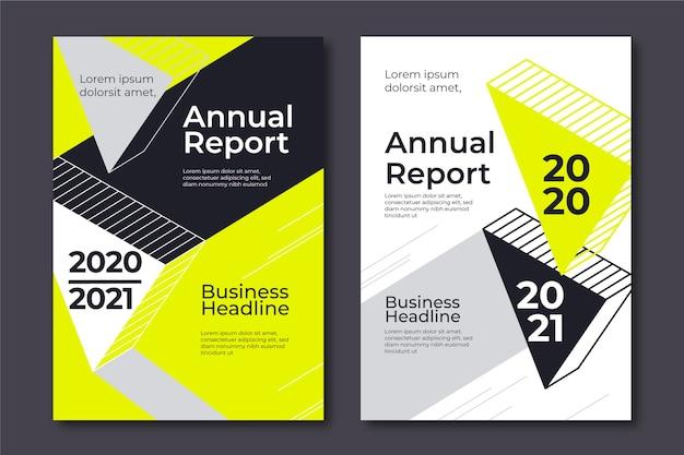 Шаблоны абстрактных годовых отчетов