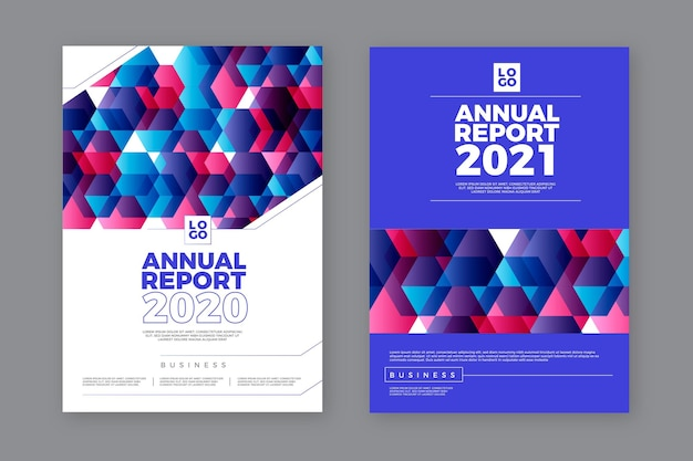 Abstract annual report